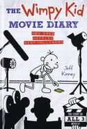 The Wimpy Kid Movie Diary cover