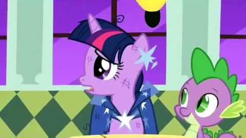 Twilight sparkle that's not me( diary of a wimpy kid)