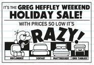 Greg Heffley Weekend Holiday Sale