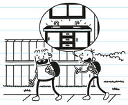 Greg tells Rowley about the new kitchen