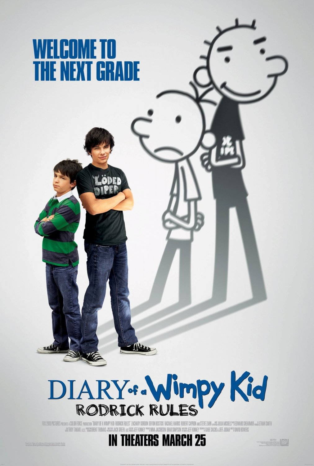 Diary Of A Wimpy Kid Rodrick Rules Film Diary Of A Wimpy Kid Wiki Fandom