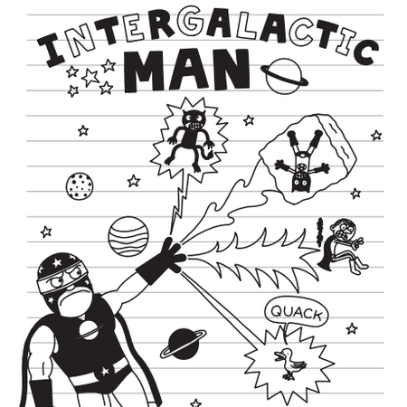 Intergalactic Man Diary Of A Wimpy Kid Wiki Fandom