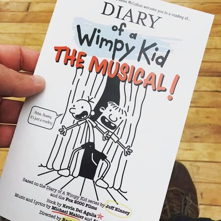 Diary Of A Wimpy Kid The Musical Diary Of A Wimpy Kid Wiki Fandom