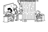 Diary of a Wimpy Kid 8 Scene