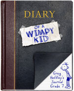 Diary of a Wimpy Kid original cover