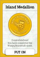 Wimpy Boardwalk Island Medallion