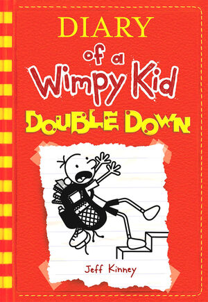 Diary of a Wimpy Kid Double Down cover