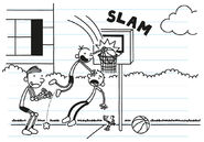 Greg imagines becoming a professional athlete