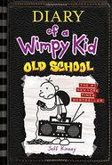 Diary of a Wimpy Kid Old School cover