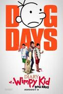 Diary of a wimpy kid dog days poster