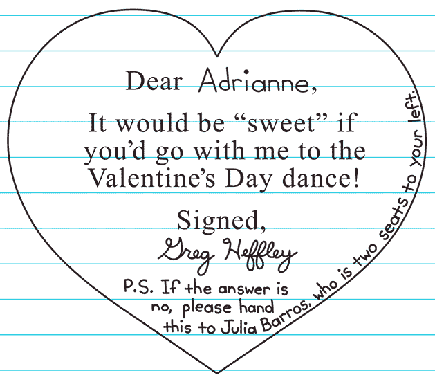 image - candy grams written to adrianne and julia | diary of a, Ideas
