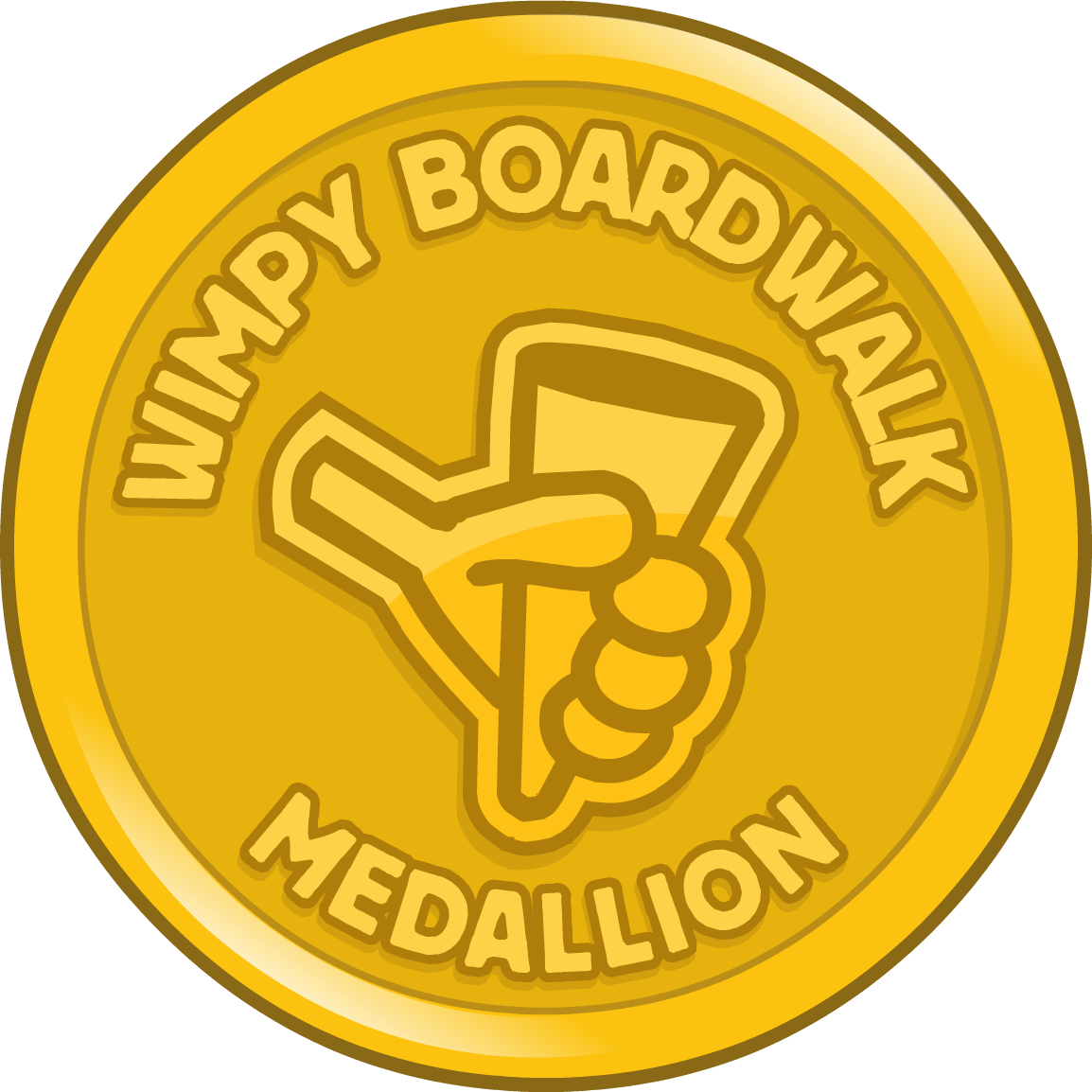 Wimpy Boardwalk Medallion
