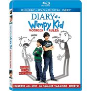 Rodrick Rules Blu-ray cover
