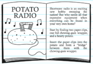 Potato Radio page