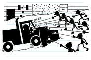 Snowplow driver ambushed by Surrey Street Kids