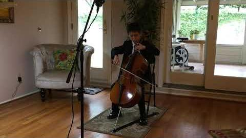 Flight of the Bumblebee for Cello and piano