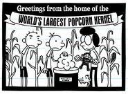 World's Largest Popcorn Kernel