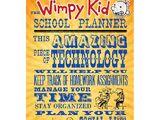 The Wimpy Kid School Planner