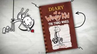 Diary of a Wimpy Kid- The Third Wheel by Jeff Kinney