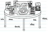Pre-written Birthday Cards