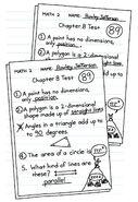 Rowley Jefferson's Chapter 8 Math Test