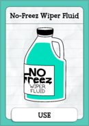 No-Freez Wiper Fluid