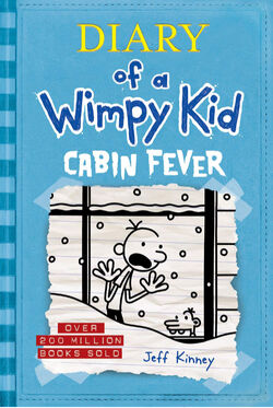 Diary of a Wimpy Kid Cabin Fever cover