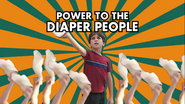 POWER TO THE DIAPER PEOPLE