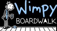 Wimpy Boardwalk Island logo transparent