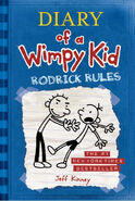 Diary of a Wimpy Kid Rodrick Rules cover