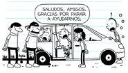 Manny speaks Spanish to the Spanish guys