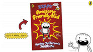 Wimpy Kid Club Diary of an Awesome Friendly Kid promo