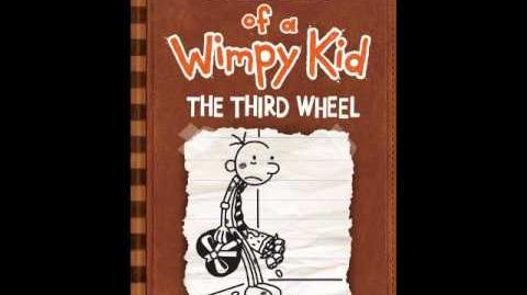 Diary of a Wimpy Kid 7 - the third wheel (OFFICIAL COVER)