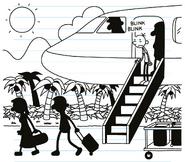 Airplaneatcoralisland