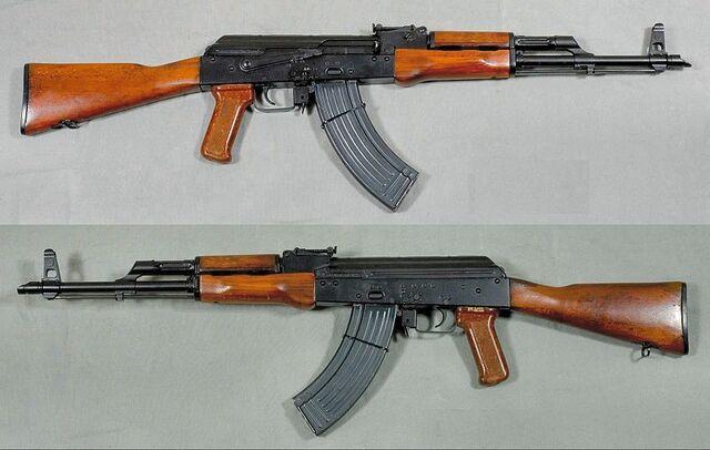 File:AKM automatkarbin, Ryssland - 7,62x39mm - Armémuseum.jpg
