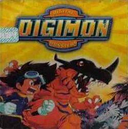 Digimon (CD de Warner Music Chile)