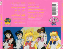 Sailor Moon:Songs from the Hit TV Series (back)