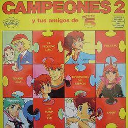 Campeones 2 y todos tus amigos de Tele 5 - Frontal