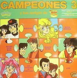 Campeones 3 y tus amigos de Tele 5 - Frontal