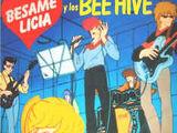 Bésame Licia y los Bee Hive (vinilo)