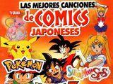 Las mejores canciones de comics japoneses