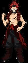 Eijiro Kirishima Traje de héroe 1.0
