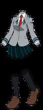 Toru Hagakure Uniforme