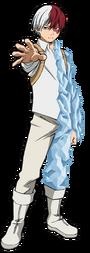 Shoto Todoroki Traje de héroe 1.0