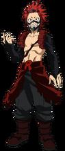 Eijiro Kirishima Traje de héroe 2.0