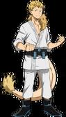 Mashirao Ojiro Traje de héroe