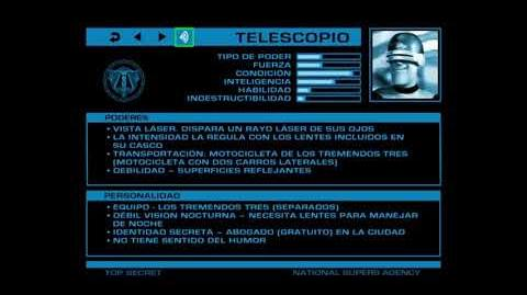 ARCHIVOS SECRETOS DE LA ANS Telescopio (Gazerbeam)