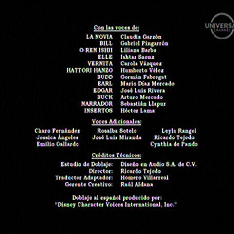 Créditos de doblaje de Buena Vista (TV)