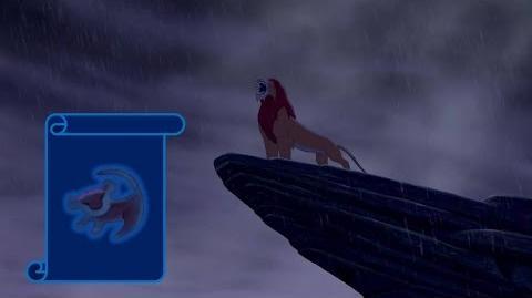 """Momento Epico Disney """"Simba Sube Al Trono"""" El Rey Leon"""