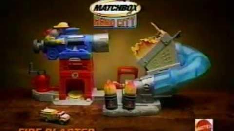 Carlos Segundo voz en Promo Comercial de Matchbox Hero City